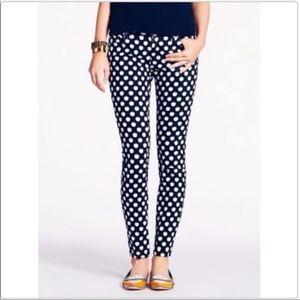 Kate Spade Broome Street Polka Dot Jeans Sz 25